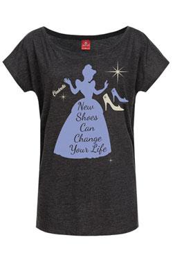 Cinderella Ladies T-Shirt New Shoes Size S