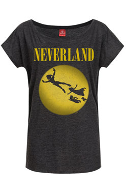 Peter Pan Ladies T-Shirt Neverland Size M