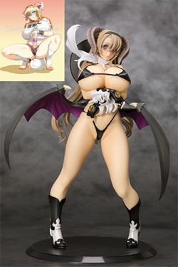 Seven Deadly Sins Greed Statue 1/8 Mammon Another Color Ver. Limited Ver. with Pillow Cover 25 cm