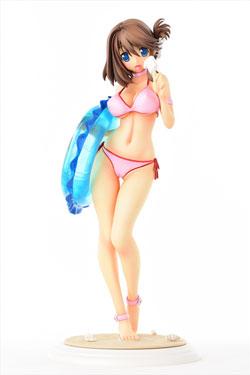 To Heart 2 XRATED PVC Statue 1/5 Komaki Manaka Summer Vacation Special Milkbar 32 cm
