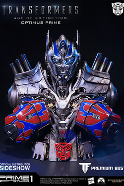 Transformers Age of Extinction Bust Optimus Prime 18 cm