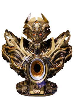 Transformers Age of Extinction Bust Galvatron Gold Version 23 cm