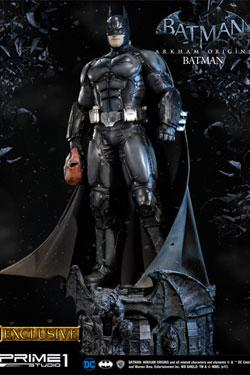 Batman Arkham Origins Statue Batman & Batman Exclusive 87 cm Assortment (3)