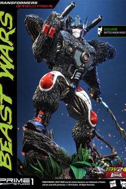 Transformers Beast Wars 1/3 Statues Optimus Primal & Optimus Primal Exclusive 63 cm Assortment (3)