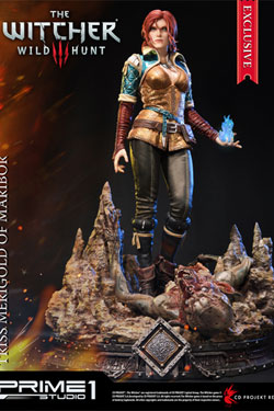 Witcher 3 Wild Hunt Statues Triss Merigold & Triss Merigold Exclusive 56 cm Assortment (3)