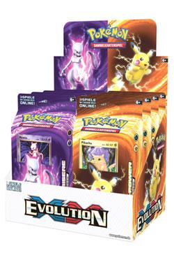 Pokemon XY12 Evolution Theme Deck Display (8) german
