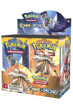 Pokemon Sun and Moon 01 Booster Display (36) *German Version*