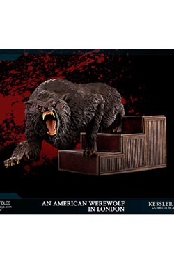 An American Werewolf in London Statue 1/4 Kessler Wolf 26 cm