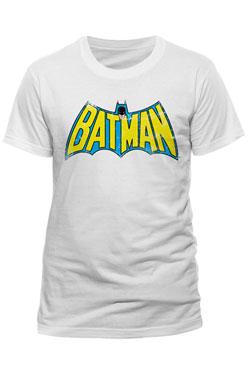 Batman T-Shirt Retro Logo Size L