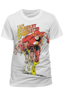 The Flash T-Shirt Scarlet Speedster Size L