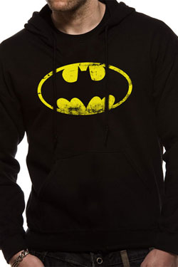 Batman Hooded Sweater Logo Size M