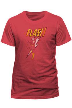 The Flash T-Shirt Distressed Strike Size M