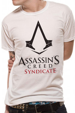 Assassin's Creed Syndicate T-Shirt Logo White Size XL