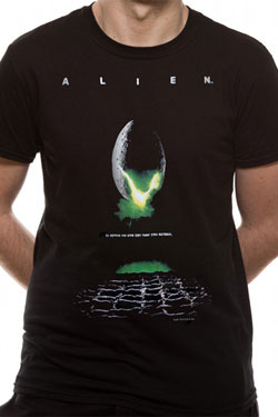 Aliens T-Shirt Poster Size S