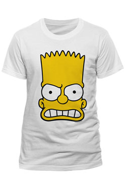 Simpsons T-Shirt Bart Face Size L
