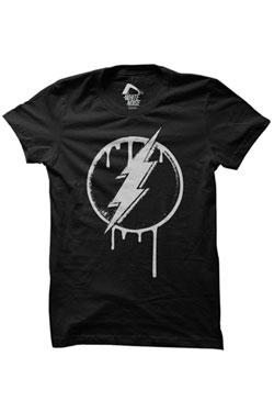 The Flash T-Shirt Dripping Logo Size S