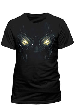 Captain America Civil War T-Shirt Black Panther Eyes Size S