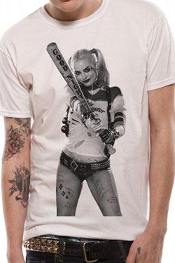Suicide Squad T-Shirt Bat Size M