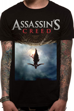 Assassin's Creed Movie T-Shirt Poster Size M
