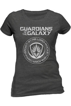 Guardians of the Galaxy 2 Ladies T-Shirt Crest Size XL