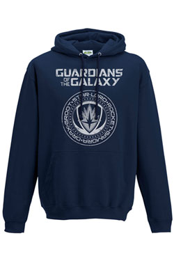Guardians of the Galaxy 2 Hooded Sweater Crest Size XL