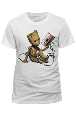 Guardians of the Galaxy 2 T-Shirt Groot & Tape Size L