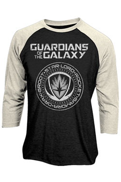 Guardians of the Galaxy 2 Baseball Long Sleeve Shirt Crest Size S