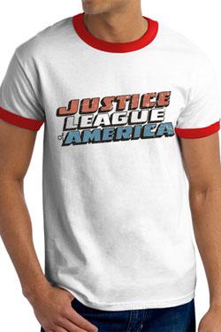 Justice League T-Shirt Vintage Logo Size XL