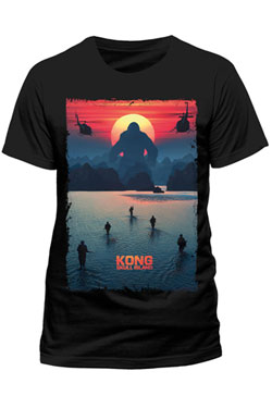 Kong Skull Island T-Shirt Poster Size S