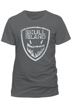 Kong Skull Island T-Shirt Shield Size L