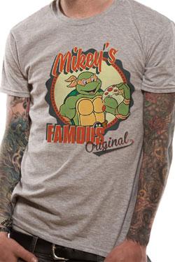 Teenage Mutant Ninja Turtles T-Shirt Mikey's Original Size S