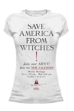Fantastic Beasts Ladies T-Shirt Save America Size XL