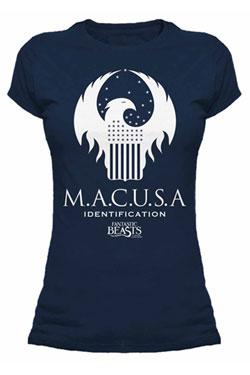 Fantastic Beasts Ladies T-Shirt Macusa Size S