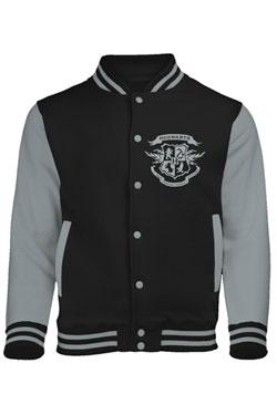 Harry Potter Baseball Varsity Jacket Hogwarts Crest Size S