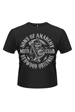 Sons Of Anarchy T-Shirt Moto Reaper Size L