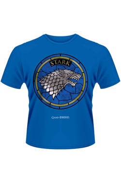 Game of Thrones T-Shirt House Stark blue Size XL