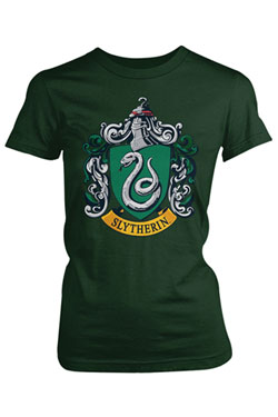 Harry Potter Ladies T-Shirt Slytherin Size M