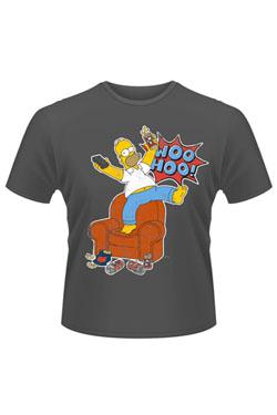 Simpsons T-Shirt Woo Hoo Size L