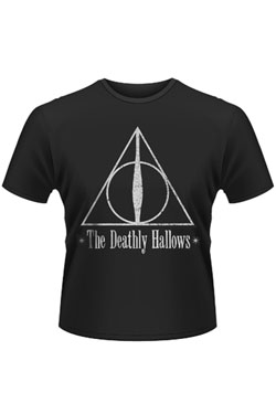 Harry Potter T-Shirt Deathly Hallows Size S