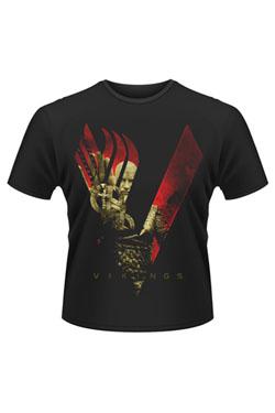 Vikings T-Shirt Blood Sky Size M