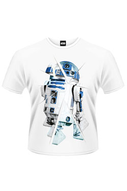 Star Wars Episode VII T-Shirt R2-D2 Chopped Size S