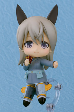 Strike Witches 2Nendoroid PVC Action Figure Eila Ilmatar Juutilainen 10 cm