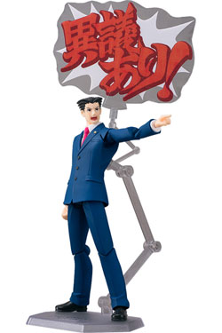 Phoenix Wright Ace Attorney Figma Action Figure Phoenix Wright 15 cm