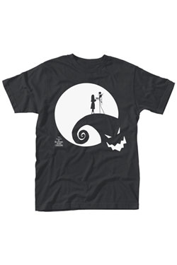 Nightmare Before Christmas T-Shirt Moon Oogie Boogie Size M