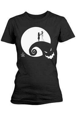 Nightmare Before Christmas Ladies T-Shirt Moon Oogie Boogie Size S