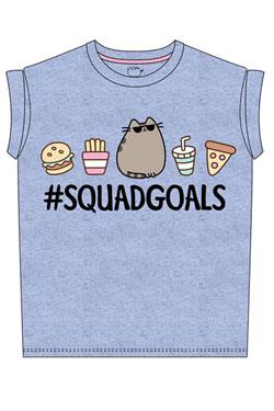 Pusheen Ladies T-Shirt Squad Goals Size M