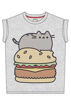 Pusheen Ladies T-Shirt Pusheen Burger Size M