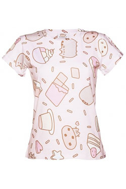 Pusheen Ladies T-Shirt Sweet Treats Size M