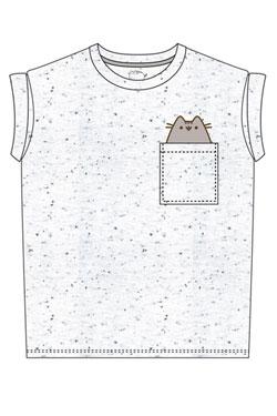 Pusheen Ladies T-Shirt Pocket Pusheen Size XL