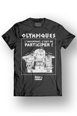 Asterix T-Shirt Olympic Size L